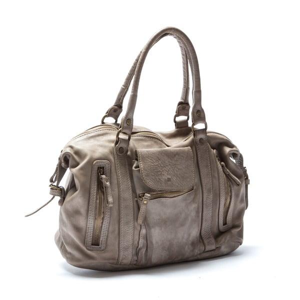 Kožená kabelka Mangotti 0001, kameň