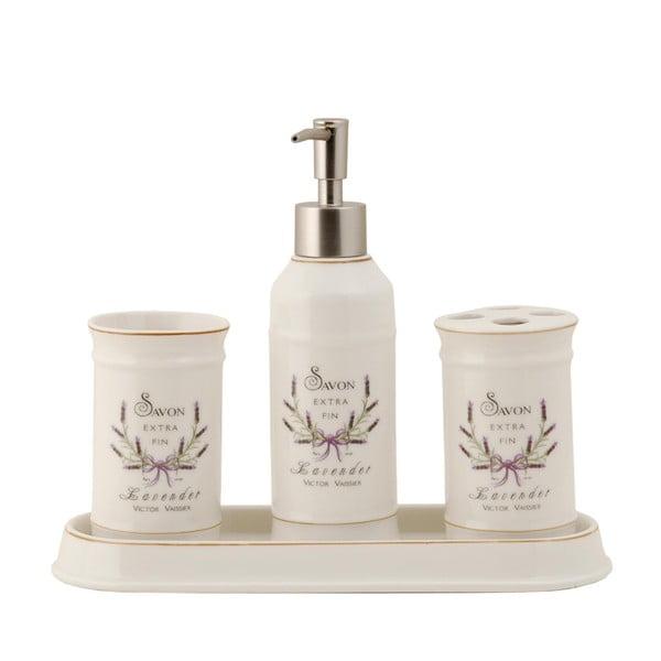 Kúpeľňový set Lavender (4 ks)