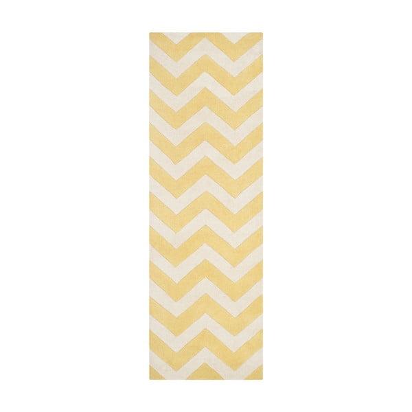 Vlnený koberec  Safavieh Truffy, 68x213cm