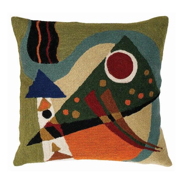 Obliečka na vankúš Kandinsky Abstraction, 45x45 cm