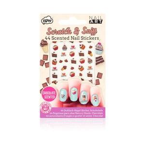 Sada nalepovacích samolepiek na nechty npw™ Chocolate Scratch And Sniff