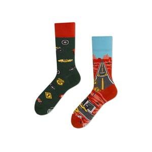 Ponožky Many Mornings Route 66,vel. 35/38