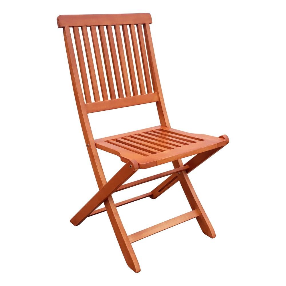 Záhradné skladacie stoličky z eukalyptového dreva ADDU Angwin