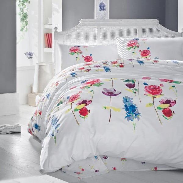 Obliečky s plachtou na dvojlôžko Spring, 200 x 220 cm