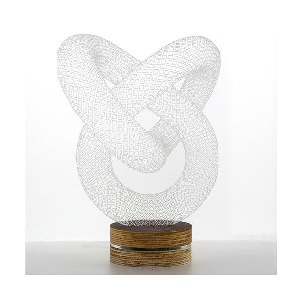 3D stolová lampa Pretzel