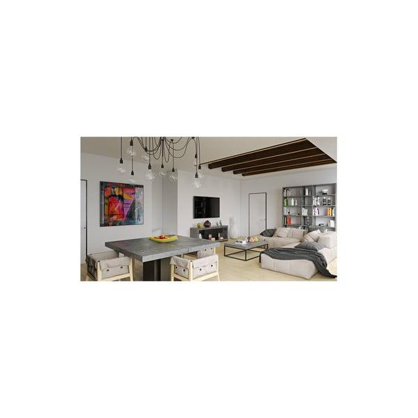 Jedálenský stôl s dekorom betónu TemaHome Dusk, dĺžka 150 cm