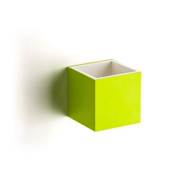 Nástenný box QUALY Pixel Box, zelený