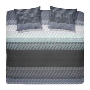 Obliečky Pleat Grey, 240x200 cm