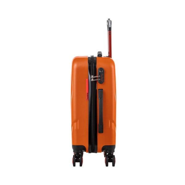 Oranžový cestovný kufor Murano Manhattan, 44 l