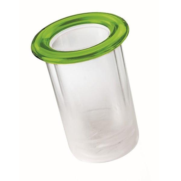 Zelený termo držiak na fľašu Fratelli Guzzini Mimi