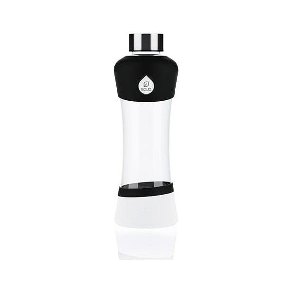Sklenená fľaša Equa Active Black, 0,55 l
