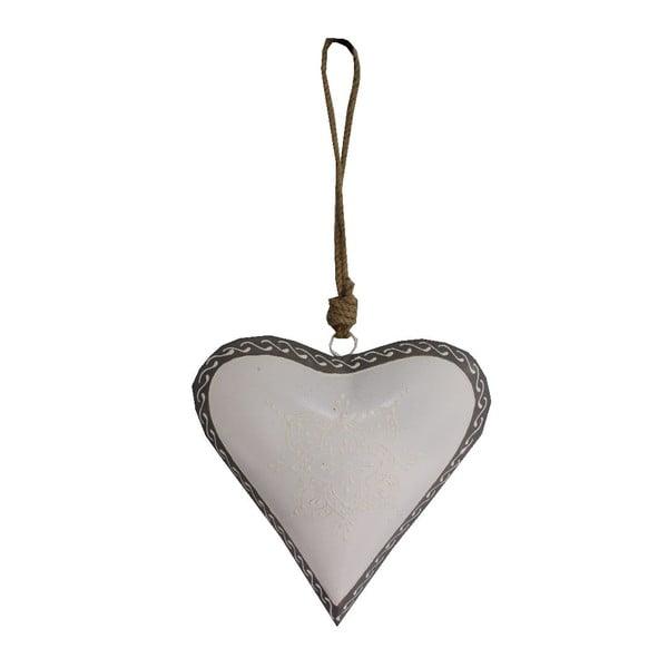 Dekoratívne srdce Light Heart, 20 cm