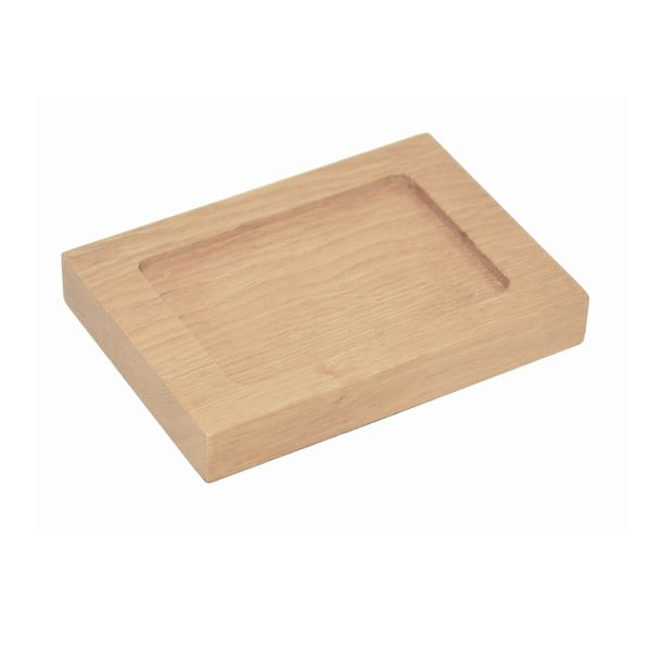 Podložka na mydlo z dubového dreva Wireworks Mezza