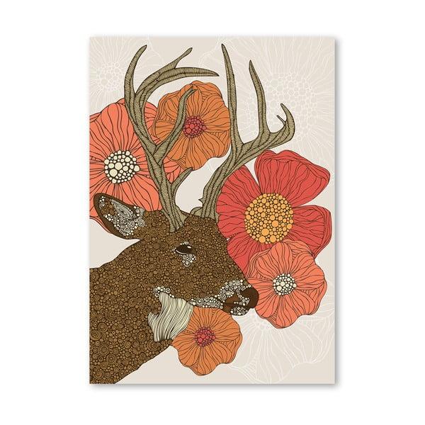 Autorský plagát My Dear Deer od Valentiny Ramos