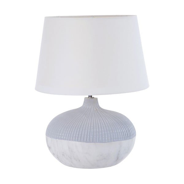 Stolná lampa Marble Look Grey
