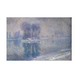 Obraz Claude Monet - Ice Floes, 70x45 cm