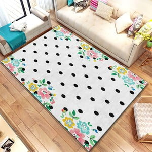 Koberec Homefesto Digital Carpets Dots, 80 x 140 cm