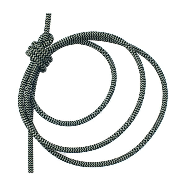 Čierno-biele svietidlo od Jakuba Velínského, 3 m