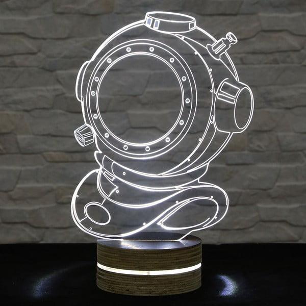 3D stolová lampa Diver