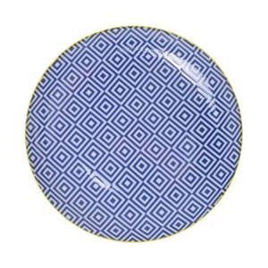 Porcelánový tanier Geometric No3, 16x2,1 cm