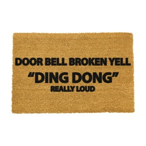 Rohožka Artsy Doormats Yell Ding Dong, 40x60cm