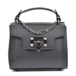 Čierna kožená kabelka Isabella Rhea Dana