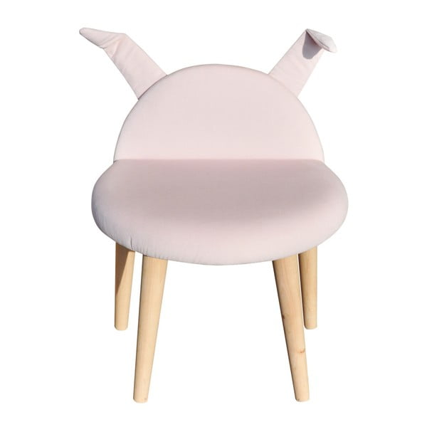 Stolička Happy Barok Animals , ružová