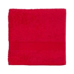Červený froté uterák Walra Frottier, 50×100 cm