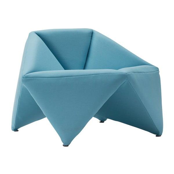 Modré kreslo Softline Fold
