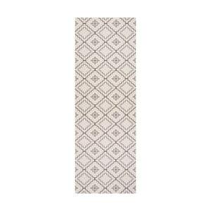 Biely behúň White Label Nori, 100×65 cm