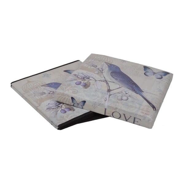Skladací Puf Bird, 37x37 cm