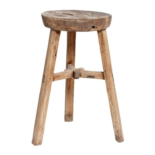 Stolička z brestového dreva Hübsch Piper