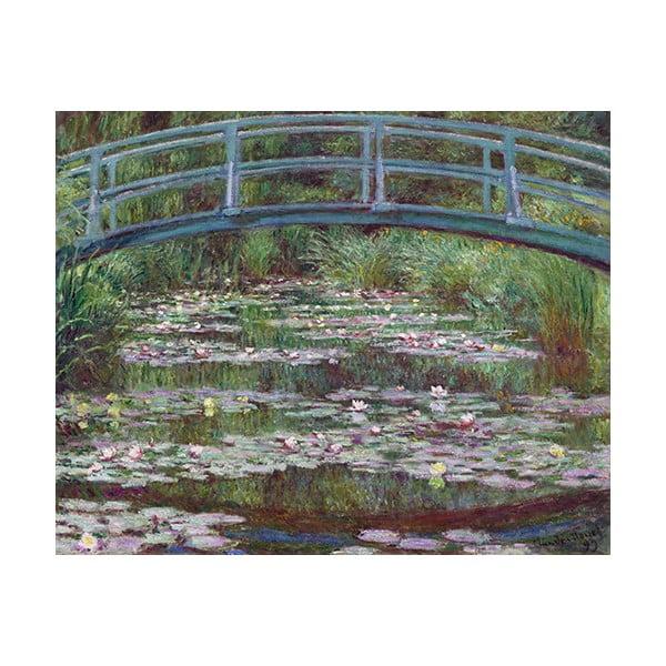Obraz Claude Monet - The Japanese Footbridge, 50x40 cm