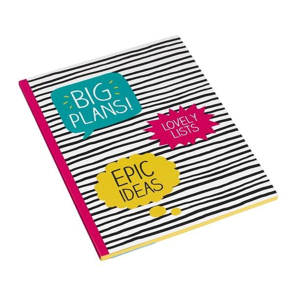 Veľký zošit Happy Jackson Big Plans