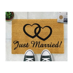 Rohožka Artsy Doormats Just Married, 40 × 60 cm