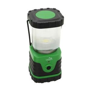 Zelené LED svietidlo Cattara Camping