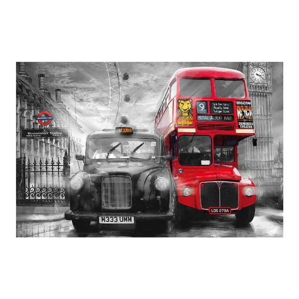 Maxi plagát Taxi & Bus, 175x115 cm