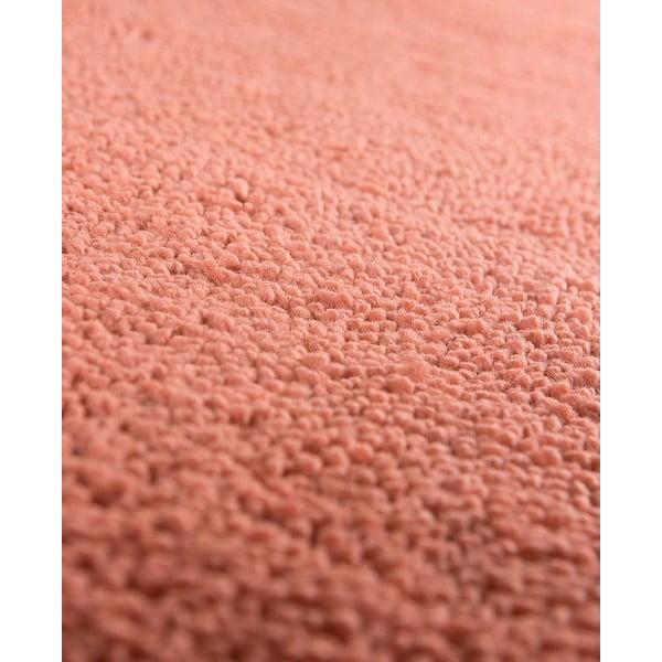 Vlnený koberec Pradera, 90x160 cm, lososový