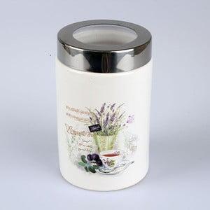 Keramická dóza s poklopom Lavender