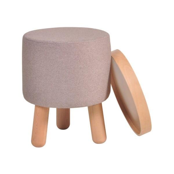 Hnedá stolička Garageeight Molde s odnímateľným vrchom, veľkosť S