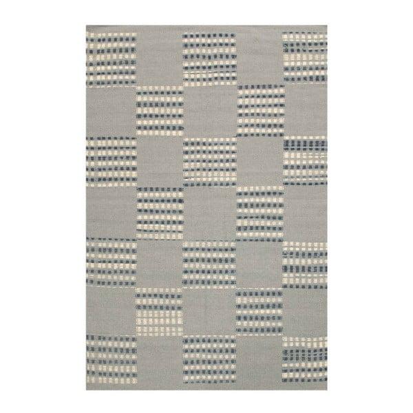 Vlnený koberec Kilim Chess Box, 140x200 cm
