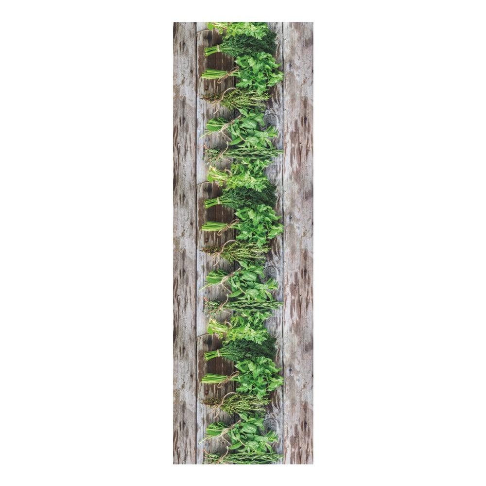 Vysokoodolný behúň Webtappeti Aromatica, 58 × 240 cm