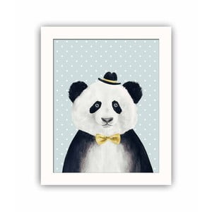 Dekoratívny obraz Panda, 28,5×23,5 cm