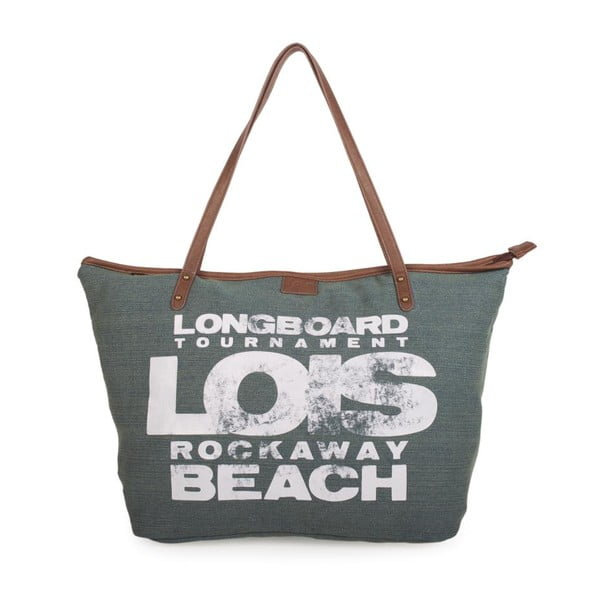 Khaki plátená taška Lois Playera