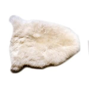 Biela jahňacia koža Cotex Pecora, 40 × 70 cm