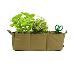 Polyesterový kvetináč Herbie, olivový