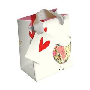 Darčeková taška Caroline Gardner Bird And Hearts