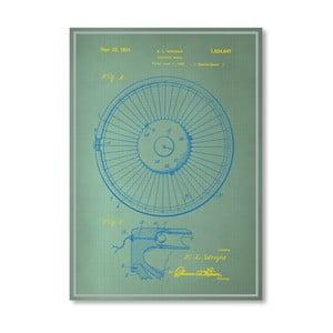 Plagát Roulette Wheel I, 30x42 cm