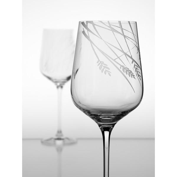 Ateliér Žampach, set 2 ks pohárov na biele víno Timotejka