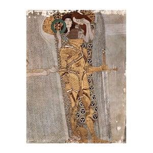 Reprodukcia obrazu Gustav Klimt - Fregio Di Beethoven, 60x45cm